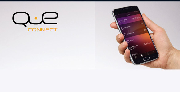 Que connect by Actron on a smart phone